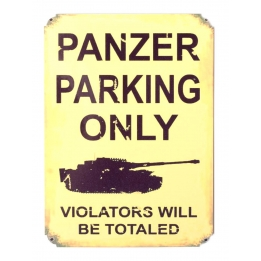 "Магнит ""PANZER PARKING ONLY"""