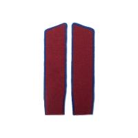 Красные петлицы (синий кант)