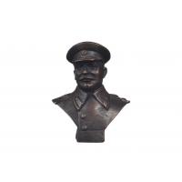 Бюст Сталина в картузе