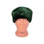 Шапка-ушанка (зеленая)