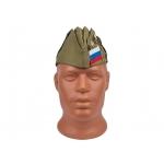 Пилотка солдатская со значками