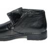 Кожаные туфли на молнии (зимние)