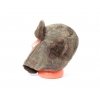 Пиксельная шапка ушанка
