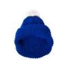 Шапка вязанная (синяя)