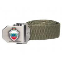 Текстильный ремень «Пограничные войска» (оливковый)