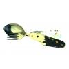 Складной нож с вилкой и ложкой