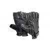 Тактические перчатки беспалые (кожаные)
