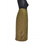 Военная юбка (двойная диагональ)