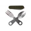 Набор (вилка, ложка, складной нож)