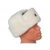 Белая шапка ушанка ВОВ