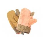 Трёхпалые рукавицы (оливковые)