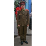 Парадный костюм советского солдата и сержанта