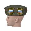 Пилотка офицерская со значками