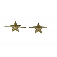 Звезда защитного цвета 13 мм на погоны