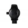 Часы водолазные черные (красный циферблат)