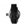 Часы водолазные серебристые (красный циферблат)