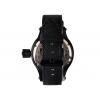 Часы водолазные черные (белый циферблат)