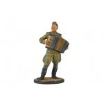 Фигурка «Лейтенант Красной Армии с аккордеоном»