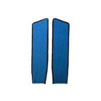 Голубые петлицы (черный кант)