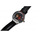 Часы КГБ чёрный циферблат