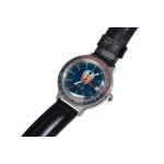 Часы КГБ синий циферблат
