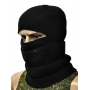 Балаклава-шапка черная